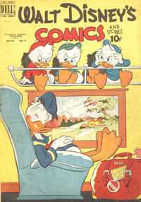 Cover Thumbnail for Walt Disney's Comics and Stories (Wilson Publishing, 1947 series) #v10#11 (119)