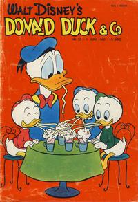Cover Thumbnail for Donald Duck & Co (Hjemmet / Egmont, 1948 series) #23/1960