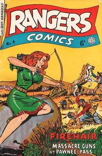 Cover Thumbnail for Rangers Comics (H. John Edwards, 1950 ? series) #4