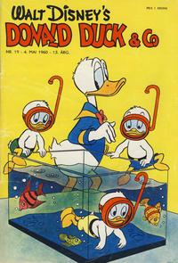 Cover Thumbnail for Donald Duck & Co (Hjemmet / Egmont, 1948 series) #19/1960