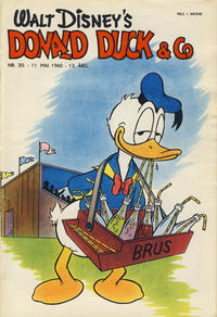 Cover Thumbnail for Donald Duck & Co (Hjemmet / Egmont, 1948 series) #20/1960