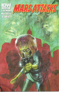 Cover Thumbnail for Mars Attacks (IDW, 2012 series) #3 [Retailer incentive]