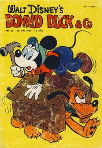 Cover Thumbnail for Donald Duck & Co (Hjemmet / Egmont, 1948 series) #22/1960