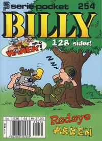 Cover Thumbnail for Serie-pocket (Hjemmet / Egmont, 1998 series) #254