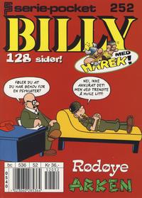 Cover Thumbnail for Serie-pocket (Hjemmet / Egmont, 1998 series) #252