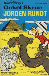 Cover Thumbnail for Donald Pocket (Hjemmet / Egmont, 1968 series) #5 - Onkel Skrue jorden rundt [2. opplag]