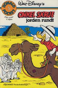 Cover Thumbnail for Donald Pocket (Hjemmet / Egmont, 1968 series) #5 - Onkel Skrue jorden rundt [3. opplag]