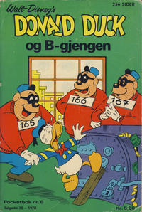 Cover Thumbnail for Donald Pocket (Hjemmet / Egmont, 1968 series) #6 - Donald Duck og B-gjengen [1. opplag]