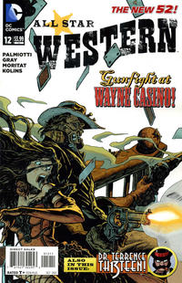 Cover Thumbnail for All Star Western (DC, 2011 series) #12