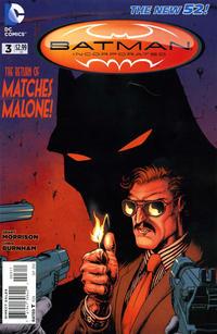 Cover Thumbnail for Batman Incorporated (DC, 2012 series) #3 [Chris Burnham Cover]