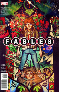Cover for Fables (DC, 2002 series) #120
