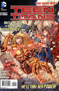 Cover Thumbnail for Teen Titans (DC, 2011 series) #12