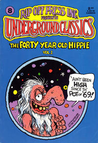 Cover Thumbnail for Underground Classics (Rip Off Press, 1985 series) #8