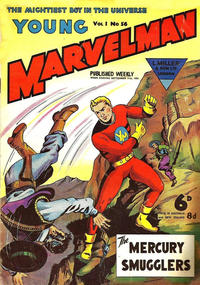 Cover Thumbnail for Young Marvelman (L. Miller & Son, 1954 series) #56
