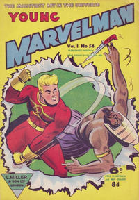 Cover Thumbnail for Young Marvelman (L. Miller & Son, 1954 series) #54