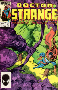 Cover Thumbnail for Doctor Strange (Marvel, 1974 series) #66 [Direct Edition]