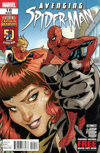 Cover Thumbnail for Avenging Spider-Man (Marvel, 2012 series) #10 [Direct Edition]