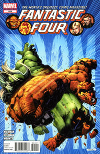 Cover Thumbnail for Fantastic Four (Marvel, 2012 series) #609