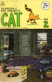 Cover Thumbnail for Fat Freddy's Cat (Rip Off Press, 1977 series) #2 [1st-4th print 0.75 USD]