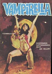 Cover Thumbnail for Vampirella (Mehmet K. Benli, 1976 series) #[25]