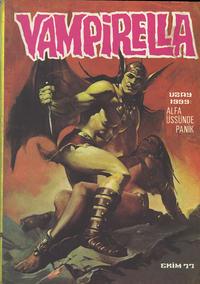 Cover Thumbnail for Vampirella (Mehmet K. Benli, 1976 series) #[28]