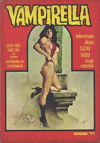 Cover Thumbnail for Vampirella (Mehmet K. Benli, 1976 series) #[29]