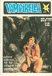 Cover Thumbnail for Vampirella (Mehmet K. Benli, 1977 ? series) #5