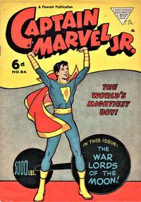 Cover Thumbnail for Captain Marvel Jr. (L. Miller & Son, 1950 series) #84