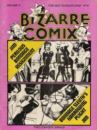 Cover Thumbnail for Bizarre Comix (Bélier Press, 1975 series) #14 - Perilous Bondage Assignment; Bondage Sleuth's Harrowing Plight