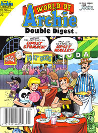 Cover Thumbnail for World of Archie Double Digest (Archie, 2010 series) #20 [Newsstand]