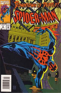 Cover Thumbnail for Spider-Man 2099 (Marvel, 1992 series) #6 [Newsstand]