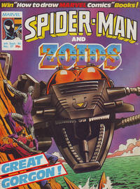 Cover Thumbnail for Spider-Man and Zoids (Marvel UK, 1986 series) #27
