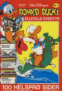 Cover Thumbnail for Donald Ducks Elleville Eventyr (Hjemmet / Egmont, 1986 series) #7