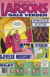 Cover Thumbnail for Larsons gale verden (Bladkompaniet, 1992 series) #1/1993