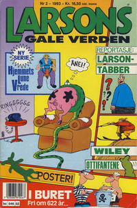 Cover Thumbnail for Larsons gale verden (Bladkompaniet, 1992 series) #2/1993