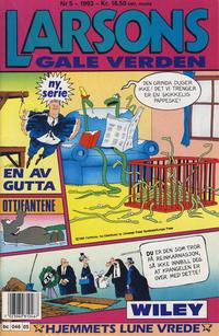 Cover Thumbnail for Larsons gale verden (Bladkompaniet / Schibsted, 1992 series) #5/1993