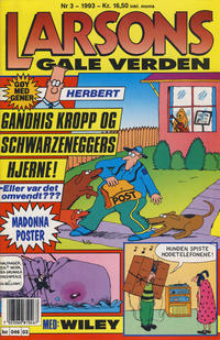 Cover Thumbnail for Larsons gale verden (Bladkompaniet / Schibsted, 1992 series) #3/1993