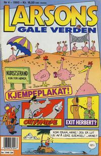 Cover Thumbnail for Larsons gale verden (Bladkompaniet / Schibsted, 1992 series) #4/1993