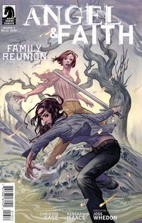 Cover Thumbnail for Angel & Faith (Dark Horse, 2011 series) #13 [Steve Morris Cover]