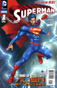 Cover Thumbnail for Superman Annual (DC, 2012 series) #1