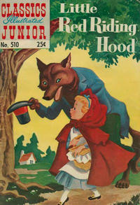 Cover Thumbnail for Classics Illustrated Junior (Gilberton, 1953 series) #510 [25 cent cover]