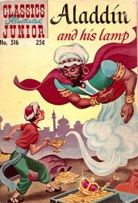 Cover Thumbnail for Classics Illustrated Junior (Gilberton, 1953 series) #516 [25 cent reprint]