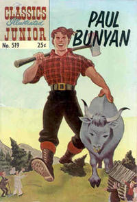 Cover Thumbnail for Classics Illustrated Junior (Gilberton, 1953 series) #519 [25 cent reprint]