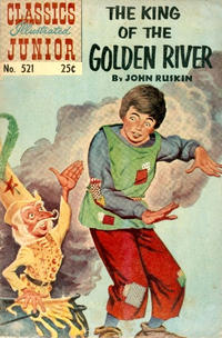 Cover Thumbnail for Classics Illustrated Junior (Gilberton, 1953 series) #521 [HRN 576]