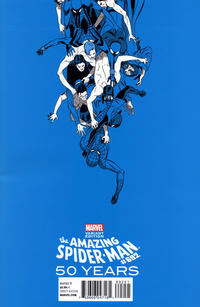 Cover Thumbnail for The Amazing Spider-Man (Marvel, 1999 series) #692 [Marcos Martin 1990s Decade (Blue)]