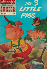 Cover Thumbnail for Classics Illustrated Junior (Gilberton, 1953 series) #506 [25c Price Variant]