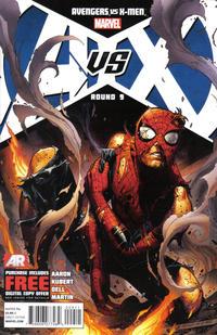 Cover Thumbnail for Avengers vs. X-Men (Marvel, 2012 series) #9