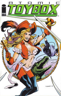 Cover Thumbnail for Atomic Toybox (Image, 1999 series) #1 [Pirate Girl Cover]