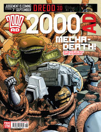 Cover Thumbnail for 2000 AD (Rebellion, 2001 series) #1798