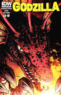 Cover Thumbnail for Godzilla (IDW, 2012 series) #4